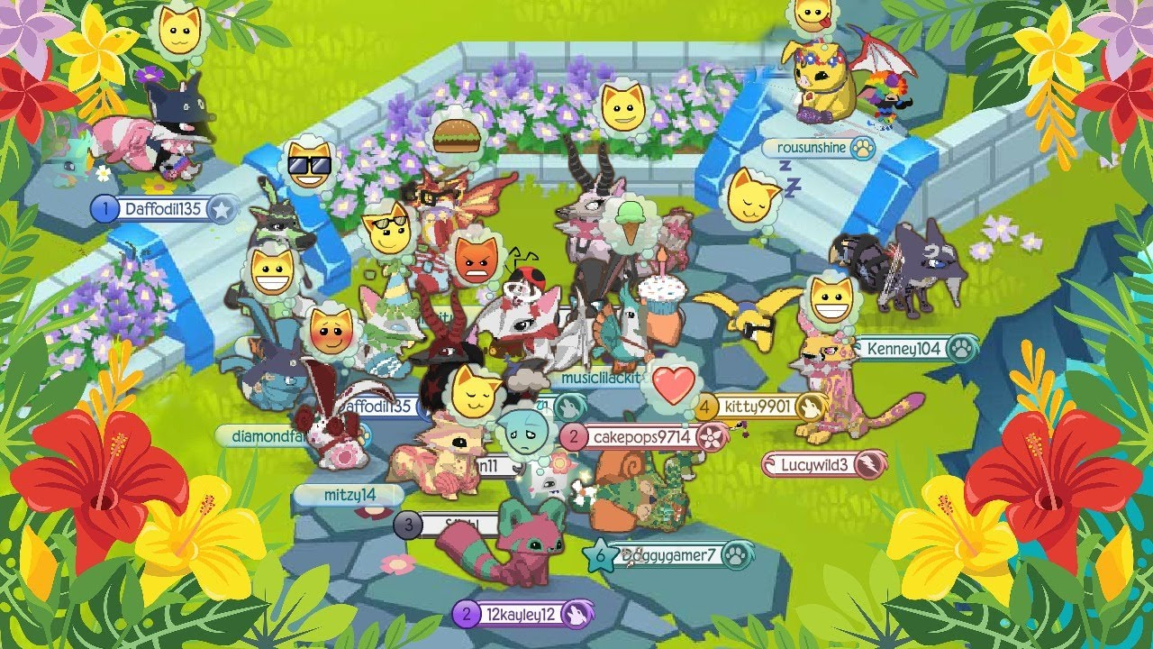 Animal Jam Classic Live Stream! Long Collar Giveaways and ...