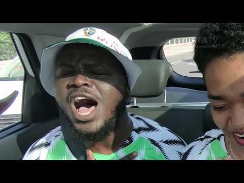 World Cup Driver - NIGERIA!