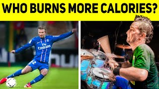 How Many Calories Can Drumming Burn? | Special Guest Pete Parada of The Offspring