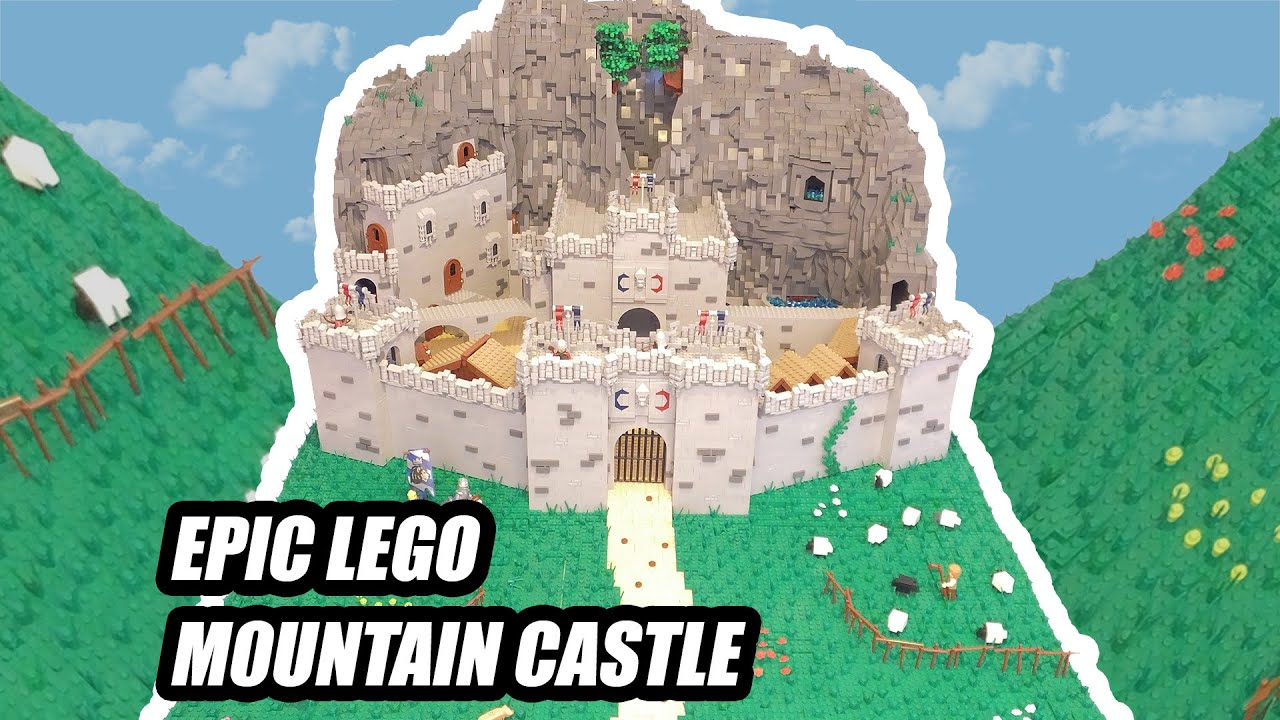 Timelapse Custom Lego Castle Youtube
