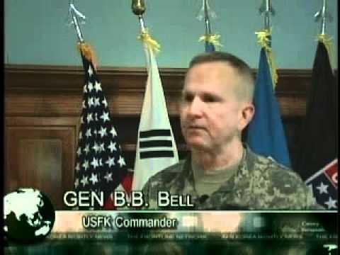Gen Bell Visits Humphreys - Camp Humphreys, Korea - 071203