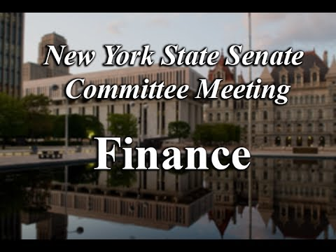 Senate Standing Committee on Finance - 06/20/17 - 8:00 PM