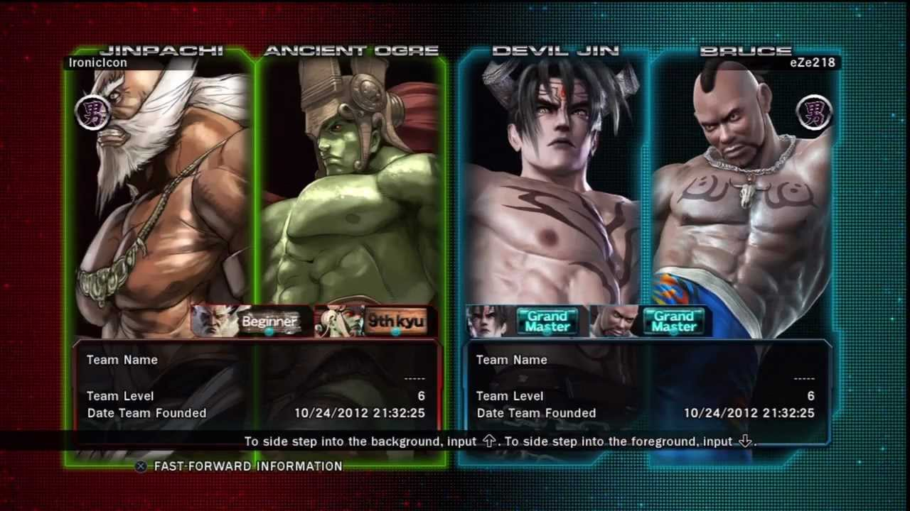 Tekken Tag Tournament 2 Ancient Ogre Jinpachi Vs Bruce Devil Jin 2 11 18 Youtube