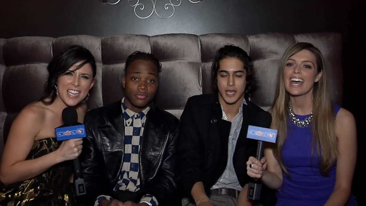 Avan Jogia Leon Thomas Interview Victoria Justice S 18th Birthday Party Youtube