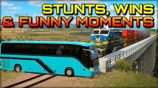 FORZA HORIZON 3 | EPIC STUNTS, WINS & FUNNY MOMENTS #4