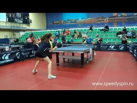 Burtseva - Terehova.Sankt-Peterburg Cadets Championship 2019.Semifinale.FHD