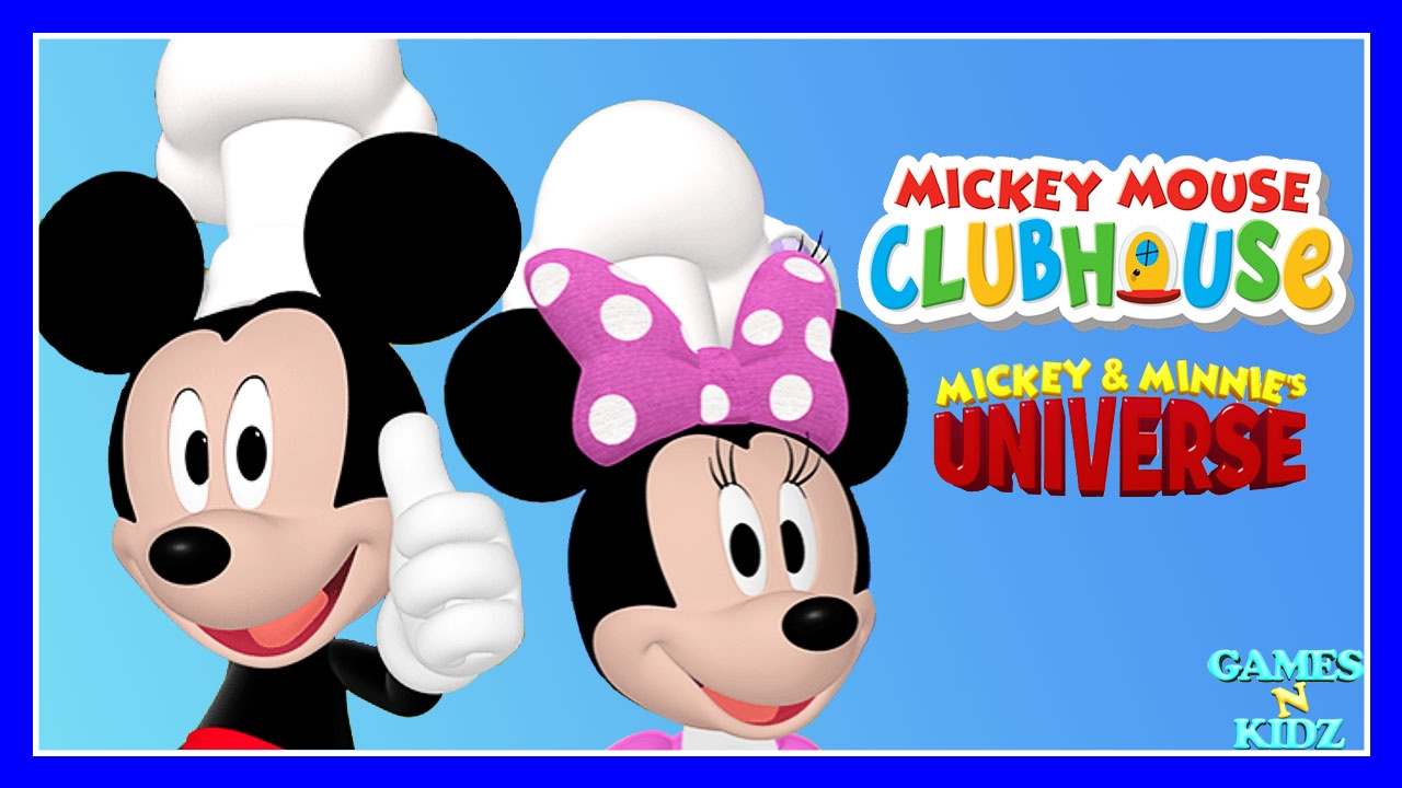 Mickey Mouse Clubhouse Mickey Minnie Cooking All Outfits Disney Junior Game For Kids Youtube