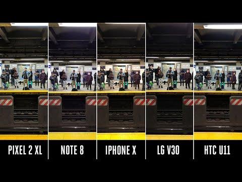 Camera shootout: iPhone X vs. Pixel 2 vs. Note 8