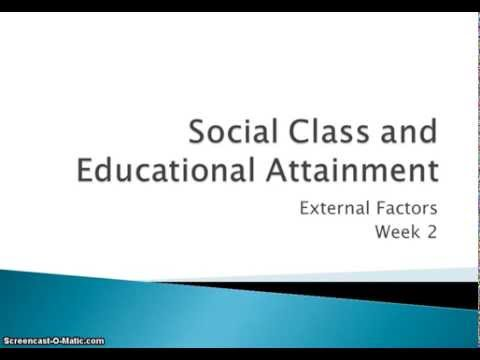 ethnicity social class and education