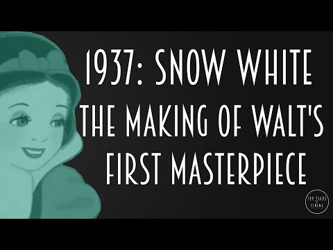 1937: Snow White - The Making of Walt's First Masterpiece