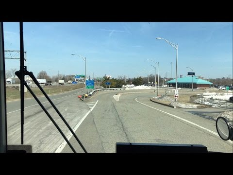 NJ Transit Bus HD: Round Trip Time-lapse Ride on Route 321 (Vince Lombardi Park & Ride - New York)