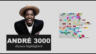 Outkast - Rosa Parks - André 3000's Verse - Lyrics, Rhymes Highlighted (037)
