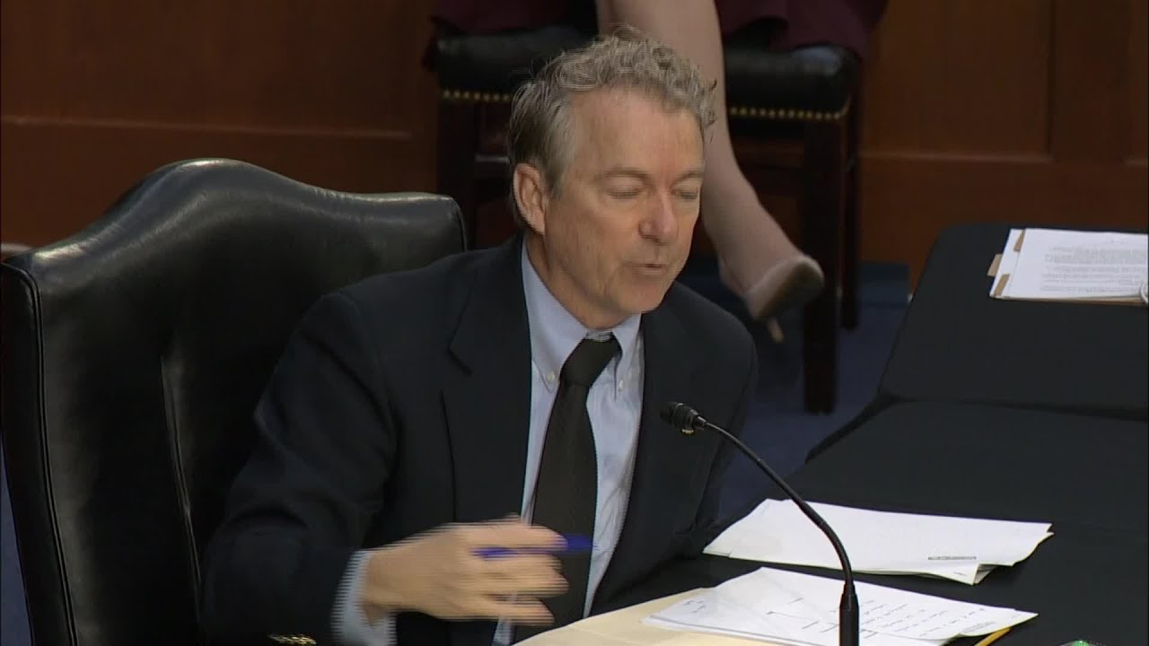 'Isn't it just theater?': Rand Paul grills Anthony Fauci over continued ...
