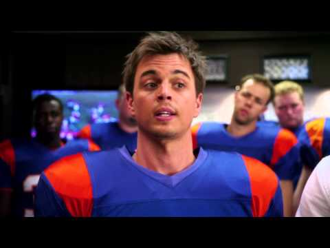 "BLUE MOUNTAIN STATE SEASON 3 Clip - ""Moran Inspires the Team"""