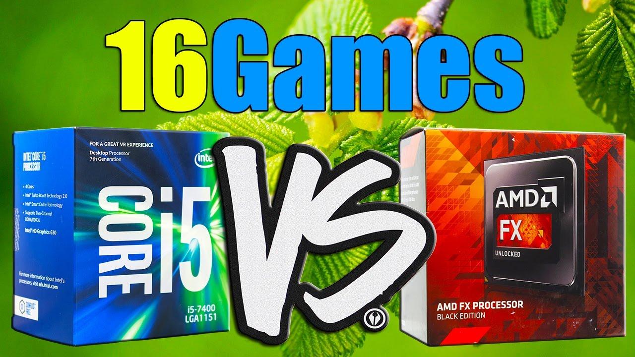 i5-7400 vs FX-8350   GTX 1070 OC   1920 x 1080   in 16 Games