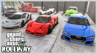 GTA 5 ROLEPLAY - PERSONAL CAR COLLECTION | Ep. 376 Civ