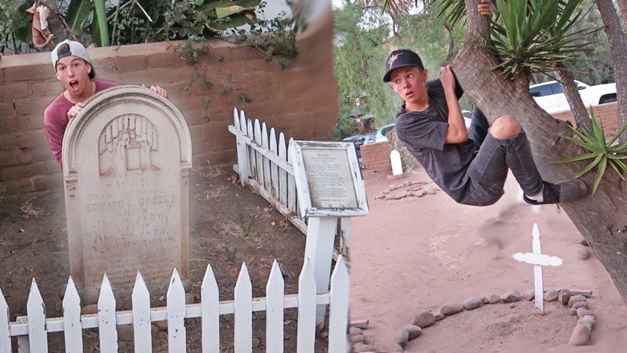 sneaking-into-haunted-cemetery-hide-n-seek