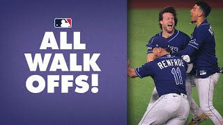All Walk-Off Wins from the 2020 Season! (Brett Phillips, Freddie Freeman and so many more!)