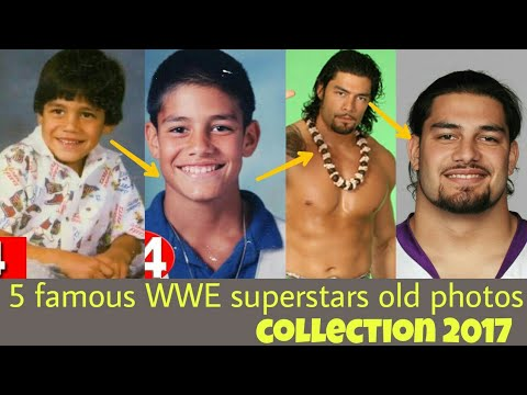 WWE top 5 wrestlers then and now 2017 photos| Superstar children life