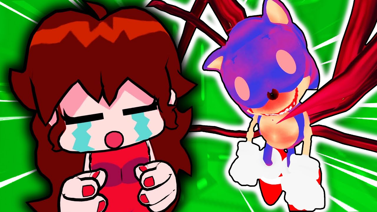 Friday Night Funkin' Plays AMONG US But SUNKY IS THE IMPOSTER! - (FNF Mods: Sonic.exe)