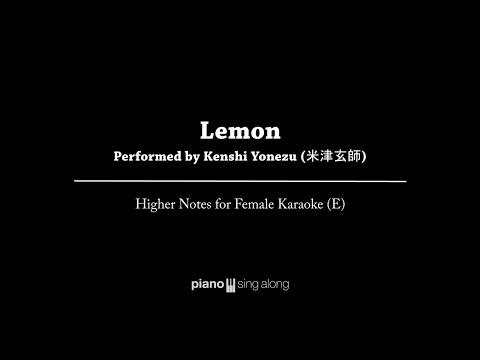 Kenshi Yonezu (米津玄師) - LEMON Piano (FEMALE KARAOKE PIANO COVER)