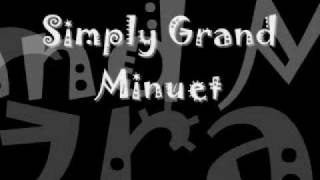 grand serenade for an awful lot of winds and percussion movement ii simply grand minuet