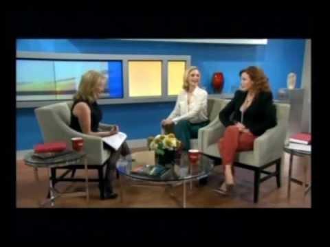 Lauren Holly and Kristin Lehman  on CTV's AM Canada