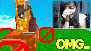 I made a GIRL GAMER CRY with THIS MINECRAFT TROLL! (Minecraft Trolling)