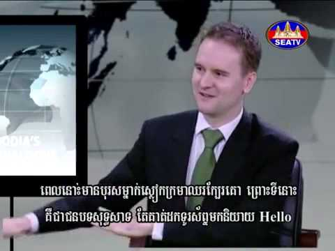 Anthony Perkins,WING CEO on Cambodia's Global Dialogue Devel