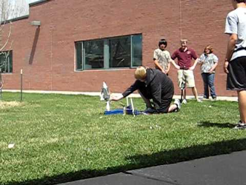 Angevine Middle School: Plastic Bottle Rockets: Rocket 4
