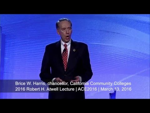 2016 Robert H. Atwell Lecture: Brice W. Harris