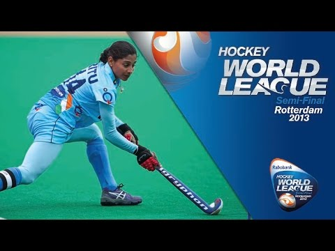 India vs Chile Women's Hockey World League Rotterdam 7/8th Playoff [22/6/13]