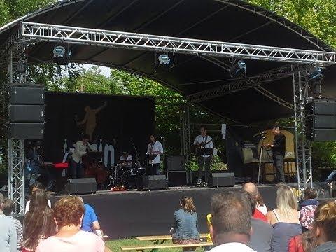 Axel Camil Hachadi Live Jazzin' Cheverny Festival (France) part 1 / 2