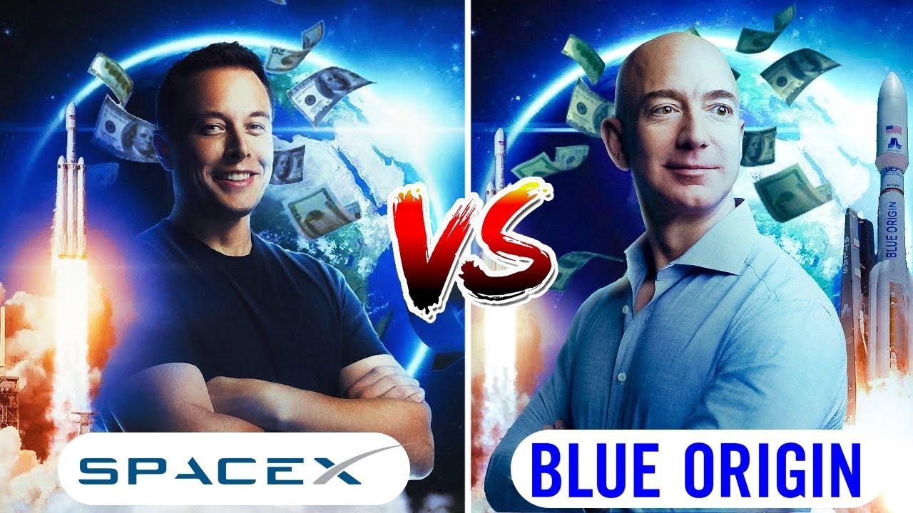Space Tourism Race | Jeff Bezos vs Elon Musk vs Richard Branson | Blue Origin | Storypedia