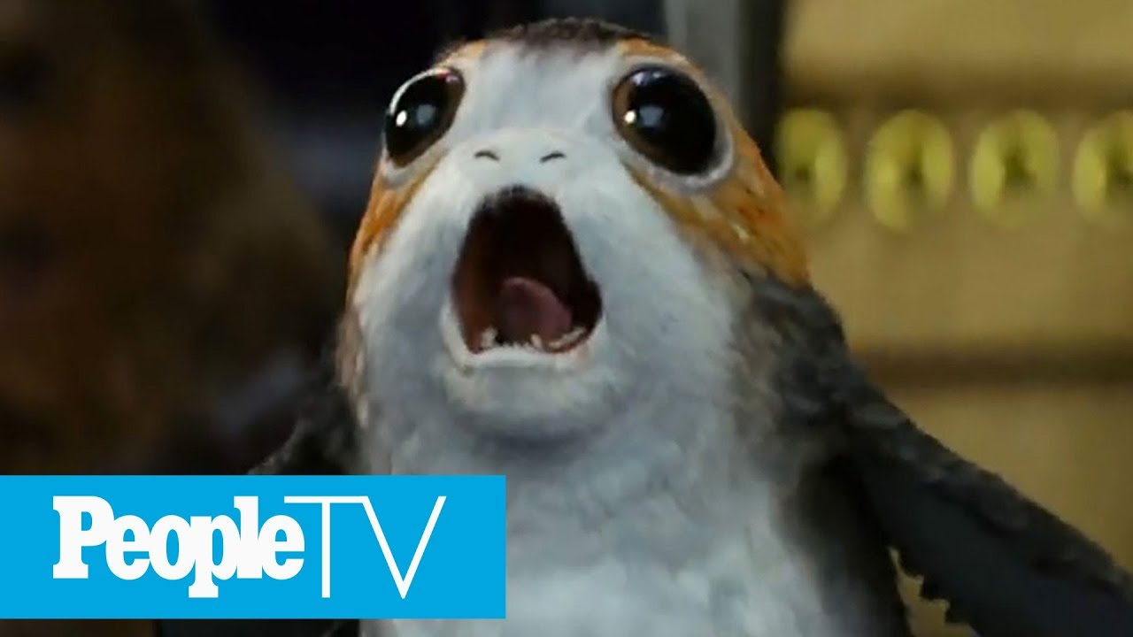 'Star Wars' Exclusive: Meet The Porgs, Cutest Stars In The Galaxy   PeopleTV   Entertainment Weekly