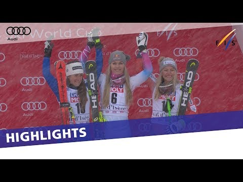 Lindsey Vonn back to winning ways in Val d