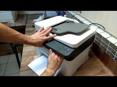 HP Laser MFP 135 / 137 Как достать, вытащить картридж