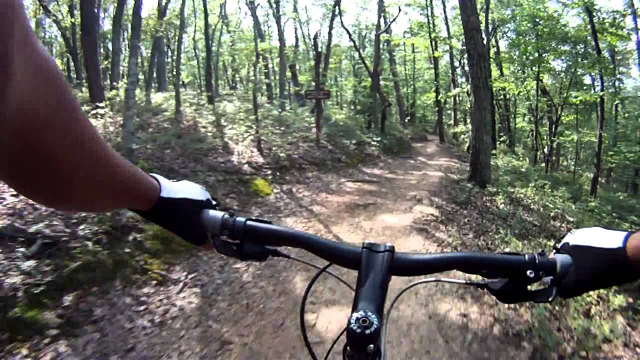 Mountain Biking Paris Mountain Greenville South Carolina Youtube