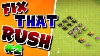 Clash Of Clans | FIX THAT RUSH (Ep.#2) | BUYING NEW STRUCTURES! |