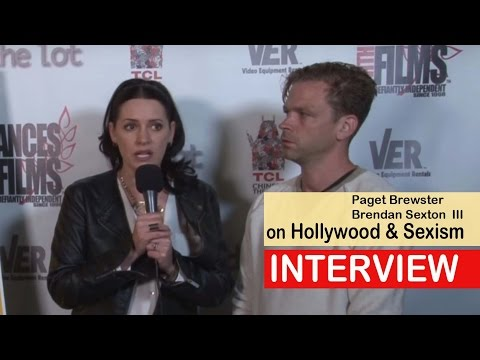 Paget Brewster & Brendan Sexton III on Hollywood and Sexism
