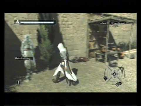 Assassin's Creed, Career 115, Jerusalem, Rich District, Informant