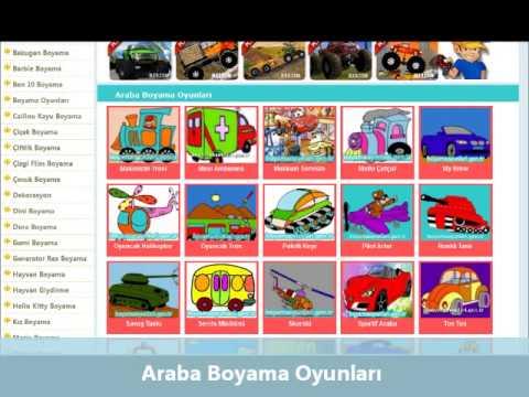 Araba Boyama Oyunları Wwwboyamaoyunlarigentr Youtube