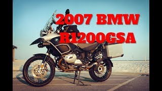 New to the Garage 2007 BMW R1200GS Adventure