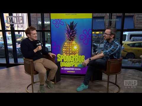"Ethan Slater On Starring In ""SpongeBob SquarePants, The Broadway Musical"""