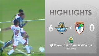 Pyramids FC 6-0 FC Nouadhibou | HIGHLIGHTS | Match Day 2 | TotalCAFCC