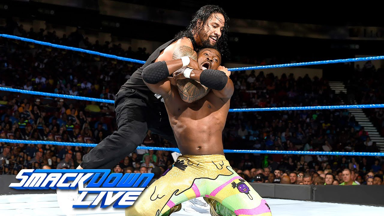 Kofi Kingston V Jimmy Uso