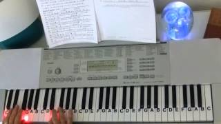 The Pink Panther ~ LNP Cover Tutorial ~ Henry Mancini ~ LetterNotePlayer ©