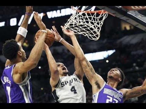 San Antonio Spurs Vs Sacramento King 10-6-17 NBA PreSeason