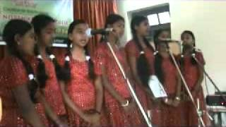 CSI Sing Song Competition on Girl Child 1st Prize.wmv