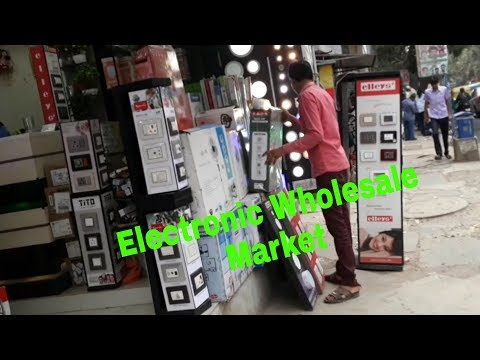 Electronics Wholesale market
